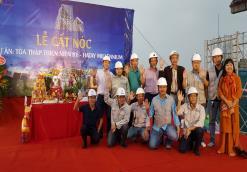 Lễ cất nóc Dự án Tòa tháp Thiên niên Kỷ - Hatay Millennium