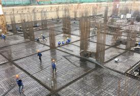 Construction progress of Hatay Millennium Project
