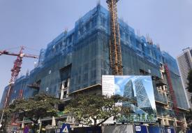 Tiến độ dự án Tòa tháp Thiên Niên KỷHatay Millennium tháng 11