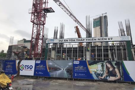 Construction progress of Hatay Millennium Project in September 2018